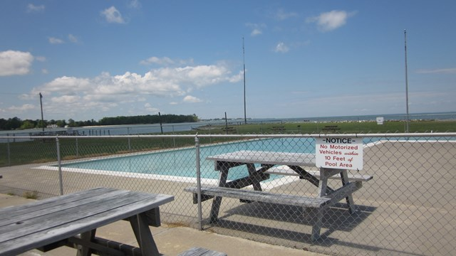 Community Pool & Picnic Area